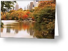 New York Reflections Greeting Card