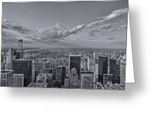 New York Skyline - View On Central Park - 2 Greeting Card