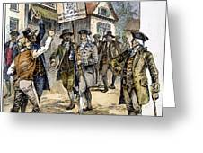New York: Stamp Act , 1765 Greeting Card