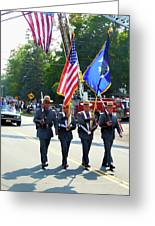 New York State Police Color Guard  5 Greeting Card