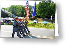 New York State Police Color Guard  6 Greeting Card
