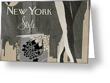 New York Style I Greeting Card
