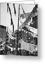 New York: Tenement, 1936 Greeting Card