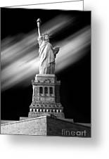 New York Time Greeting Card