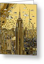 New York Urban Colors 3 Greeting Card