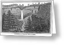 New York: Waterfall Greeting Card