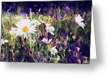 New York Wildflowers Xxv Greeting Card
