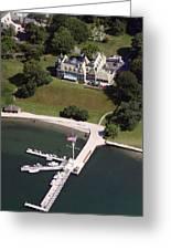 New York Yacht Club Harbour Court 5 Halidon Avenue Newport Ri 02840 3815 Greeting Card