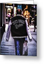 New York Yankees Baseball Jacket Greeting Card