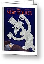 New Yorker April 11 1959 Greeting Card