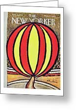New Yorker April 12 1958 Greeting Card