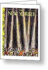 New Yorker April 4 1959 Greeting Card