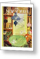 New Yorker August 1 1959 Greeting Card