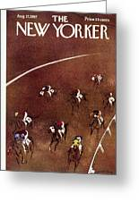 New Yorker August 17 1957 Greeting Card