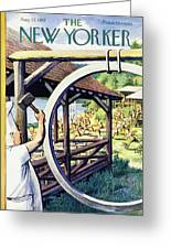 New Yorker August 22 1953 Greeting Card