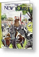 New Yorker August 23 1952 Greeting Card