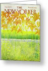 New Yorker Cover August 26 1972  Greeting Card