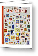 New Yorker December 13 1958 Greeting Card