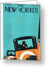 New Yorker December 5 1925 Greeting Card