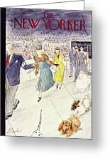 New Yorker February 12 1955 Greeting Card