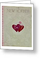 New Yorker February 16 1952 Greeting Card