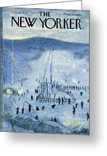 New Yorker February 18 1956 Greeting Card
