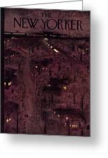 New Yorker February 6 1954 Greeting Card