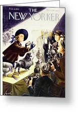 New Yorker February 9 1952 Greeting Card