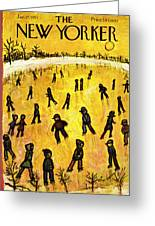 New Yorker January 17 1953 Greeting Card