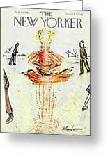 New Yorker January 30 1954 Greeting Card