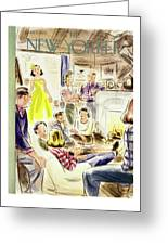 New Yorker January 7, 1950 Greeting Card
