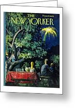 New Yorker July 2 1960 Greeting Card