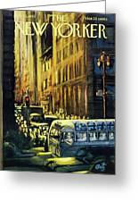 New Yorker July 23 1960 Greeting Card