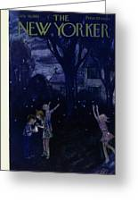 New Yorker July 30 1955 Greeting Card