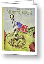New Yorker July 5 1958 Greeting Card