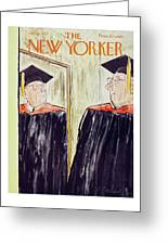 New Yorker June 1 1957 Greeting Card