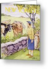 New Yorker June 11 1955 Greeting Card