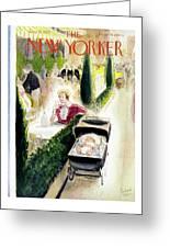 New Yorker June 26 1937 Greeting Card