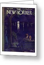 New Yorker June 28 1958 Greeting Card