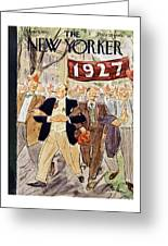 New Yorker June 7 1952 Greeting Card