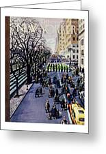 New Yorker March 14 1953 Greeting Card