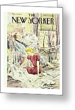 New Yorker March 21 1953 Greeting Card