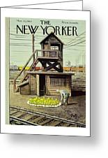 New Yorker March 26 1960 Greeting Card