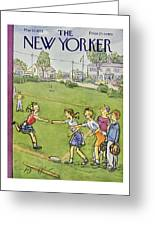New Yorker May 10 1958 Greeting Card