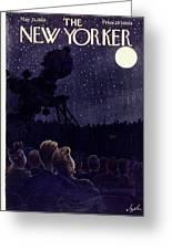 New Yorker May 13 1950 Greeting Card