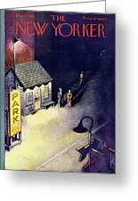 New Yorker May 2 1953 Greeting Card