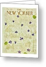 New Yorker May 3 1958 Greeting Card