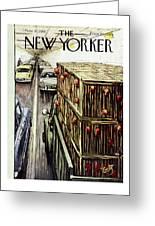 New Yorker November 17 1956 Greeting Card