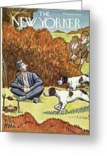 New Yorker November 8 1941 Greeting Card