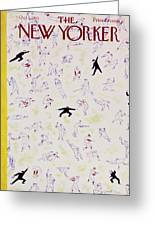 New Yorker October 1 1955 Greeting Card